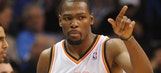 Durant scores 41 as Thunder defeat Knicks