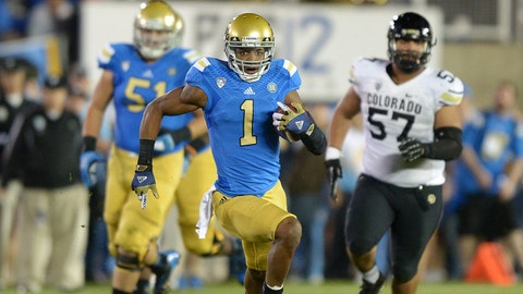 UCLA WR Shaq Evans; Jets (4th Round, 115th overall)