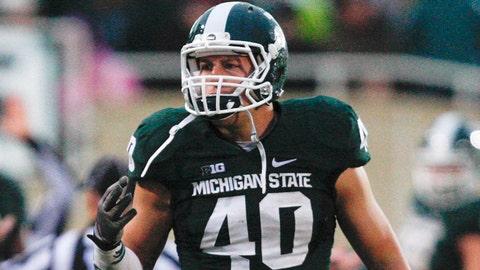 Max Bullough, Michigan State (6-3, 265)