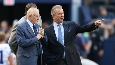 Stephen Jones on the Cowboys' salary cap issues