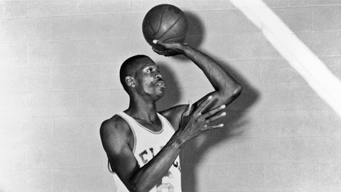 Kings: Si Green over Bill Russell (1956)