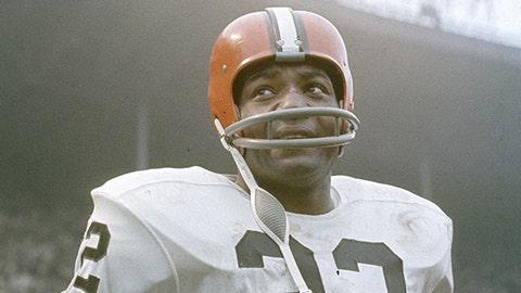 (9) Jim Brown -- running back
