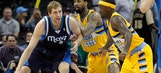 Nuggets end skid by beating Mavericks