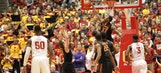 Iowa State students troll Oklahoma State's Marcus Smart with mass flop