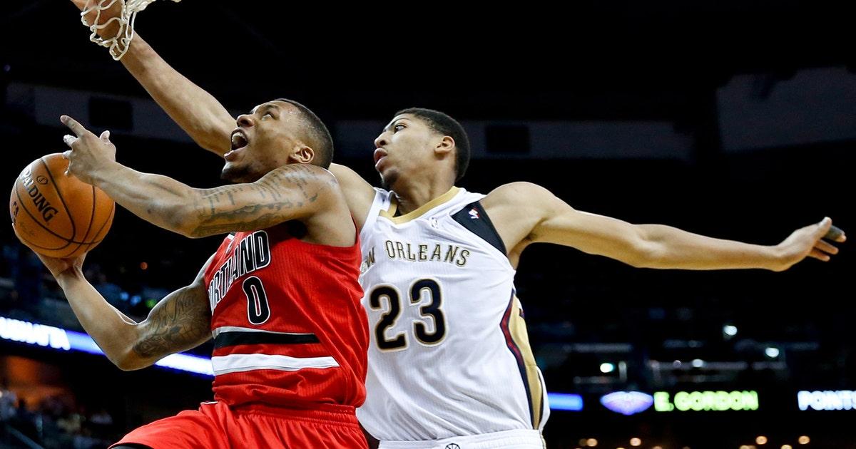 Lillard Leads Blazers To Win Over Pelicans Fox Sports
