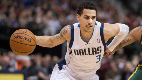 Shane Larkin, No. 3, point guard.