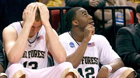 No. 13 Cleveland State vs. No. 4 Wake Forest (2009)