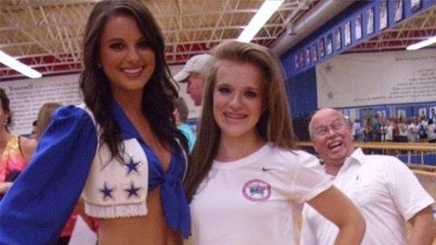 Dallas Cowboys cheerleader