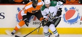 Stars drop fourth straight in loss to Flyers