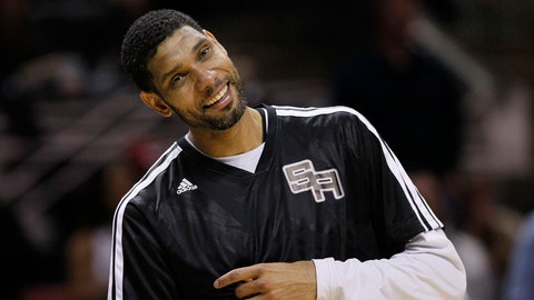 1997 No. 1 Pick: Tim Duncan (San Antonio Spurs)