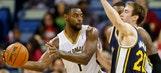 Evans leads Pelicans over Jazz
