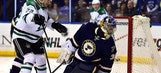 Sceviour gets two, Stars knock off Blues