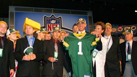 Aaron Rodgers' long wait - 2005