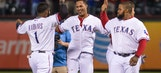 Rangers rally for two in 9th to beat Mariners