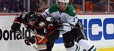 Slow start dooms Stars in playoff-opening loss at Anaheim