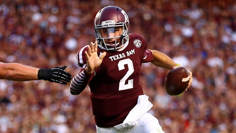 Johnny Manziel | 2011 | 3-star QB | Texas A&M