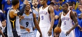 Thunder fail to complete comeback in Game 2 loss