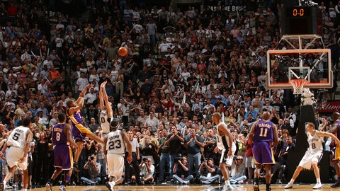 Derek Fisher, 2004 Lakers vs. Spurs
