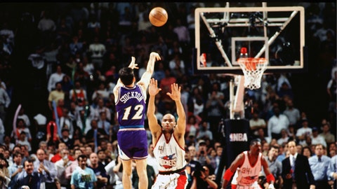 John Stockton, 1997 Jazz vs. Rockets