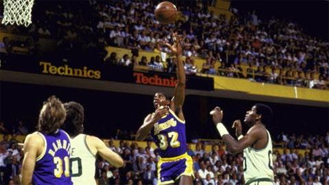 Magic Johnson, 1979 Los Angeles Lakers