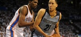Durant, Thunder held back by Grizzlies