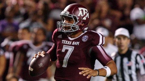No. 8: Kenny Hill, So., Texas A&M