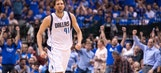 Mavericks re-sign Nowitzki for hometown discount