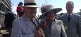 Saints owner Benson takes in Kentucky Derby