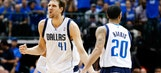 Mavericks fighting Spurs for sixth place in Western Conference