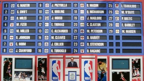 Nets get lucky in an unlucky draft class - 2000