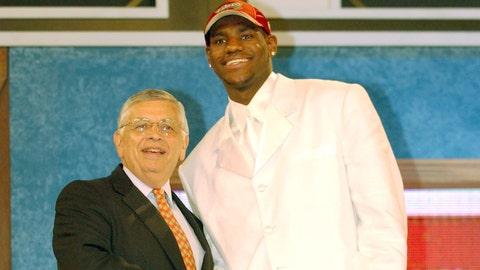 LeBron James stays home - 2003