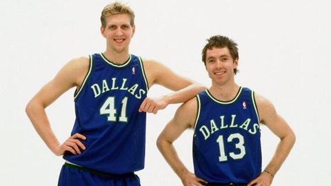 "The ""Bad Hair Buddies"" Bromance: Steve Nash & Dirk Nowitzki"