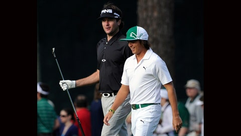 """The """"I'm man enough to cry in front of you"""" Bromance: Bubba Watson & Rickie Fowler"""