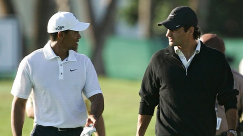 The Friends in High Places Bromance: Tiger Woods & Roger Federer