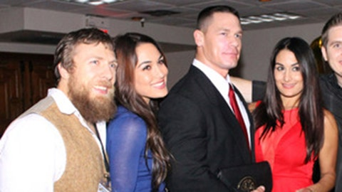 """The """"Only Because Our Significant Others Are Related"""" Bromance: John Cena & Daniel Bryan"""