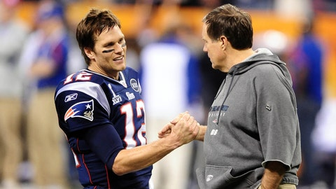 "The ""All I Do Is Win, Win, Win"" Bromance: Tom Brady & Bill Belichick"