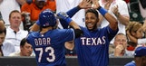 Odor's first homer, Lewis' solid start lead Rangers over Astros