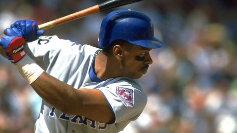 Julio Franco | Rangers 3-time All-Star | 1989-91