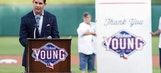 Rangers pay tribute to former great Michael Young