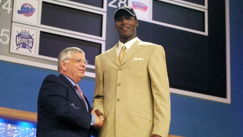 Kwame Brown, 2001 Washington Wizards