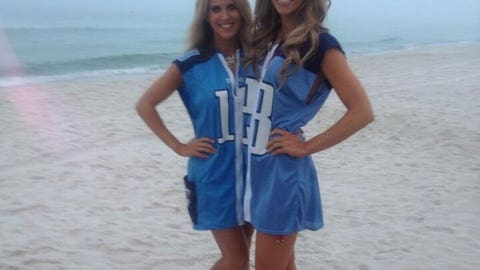 Tennessee Titans Cheerleaders at Rosemary Beach