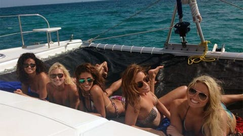 Dallas Cowboys Cheerleaders in Cancun