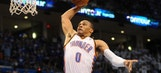Thunder's Westbrook looking to improve defense next season