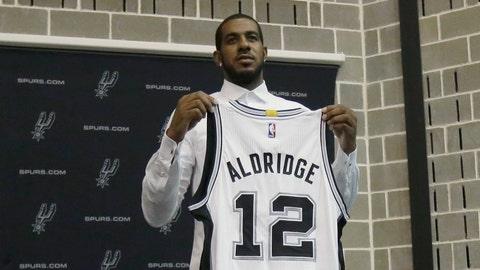 LaMarcus Aldridge, PF, San Antonio Spurs