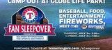 Texas Rangers Fan Sleepover at Globe Life Park in Arlington