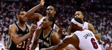 Spurs take 3-1 lead with victory over Heat