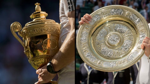 Gentlemen's & Ladies' Singles Trophies