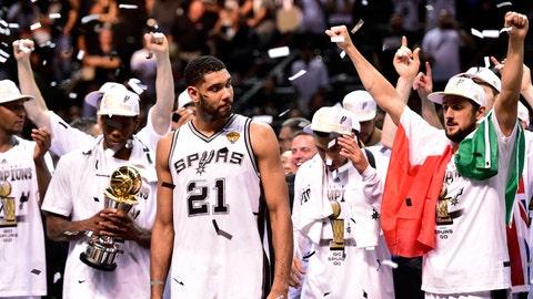 Tim Duncan, 39, San Antonio Spurs