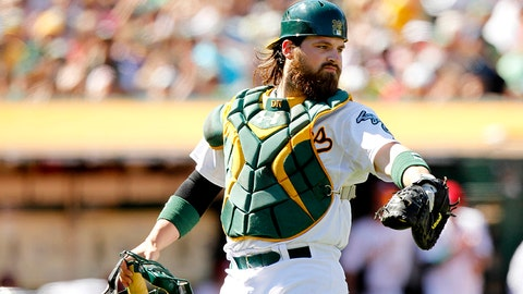 Derek Norris, C, Athletics