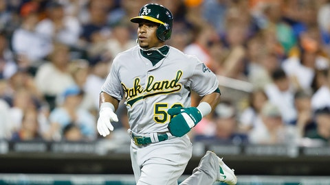 Yoenis Cespedes, OF, Athletics